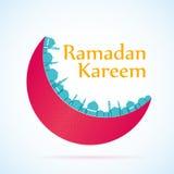 Διακοπές θρησκείας υποβάθρου Ramadan kareem Στοκ Φωτογραφία