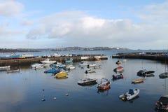 Διακοπές και λιμάνι Paignton στοκ φωτογραφία