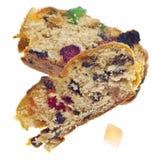 διακοπές καρπού κέικ στοκ εικόνες με δικαίωμα ελεύθερης χρήσης