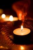 διακοπές κεριών Στοκ Φωτογραφίες