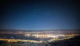 Διακοπές νύχτες Στοκ Φωτογραφίες