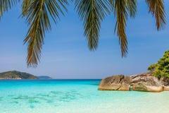 Διακοπές ονείρου στον παράδεισο της Ταϊλάνδης Στοκ Εικόνες