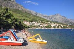 Διακοπές παραλιών, Κροατία Στοκ εικόνες με δικαίωμα ελεύθερης χρήσης