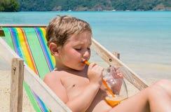 Διακοπές παραλιών στην παραλία στοκ φωτογραφία με δικαίωμα ελεύθερης χρήσης