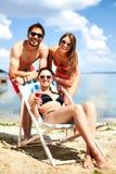 Διακοπές παραλιών στοκ εικόνες με δικαίωμα ελεύθερης χρήσης