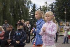 Διακοπές πόλεων του Μινσκ: 945 έτη, 9 Σεπτεμβρίου 2012 στοκ φωτογραφία με δικαίωμα ελεύθερης χρήσης