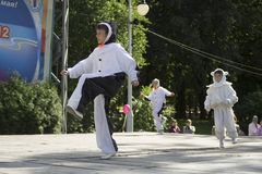 Διακοπές πόλεων του Μινσκ: 945 έτη, 9 Σεπτεμβρίου 2012 στοκ εικόνες με δικαίωμα ελεύθερης χρήσης