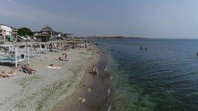 Διακοπές σε Μαύρη Θάλασσα μια ηλιόλουστη ημέρα φιλμ μικρού μήκους