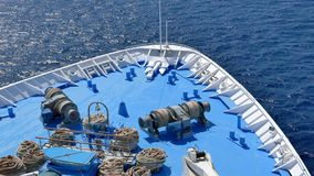 Διακοπές στην Ελλάδα με το κρουαζιερόπλοιο απόθεμα βίντεο
