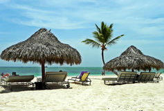 Διακοπές στην καραϊβική ακτή Punta Cana, Δομινικανή Δημοκρατία Στοκ εικόνες με δικαίωμα ελεύθερης χρήσης