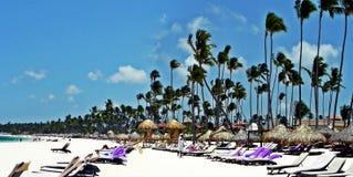 Διακοπές στην καραϊβική ακτή Punta Cana, Δομινικανή Δημοκρατία Στοκ Εικόνα