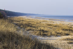 Διακοπές στη θάλασσα της Βαλτικής Στοκ φωτογραφία με δικαίωμα ελεύθερης χρήσης