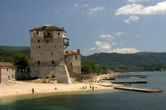 διακοπές της Ελλάδας Στοκ Εικόνες