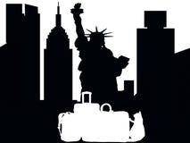 Διακοπές της Νέας Υόρκης για τις αγορές απεικόνιση αποθεμάτων