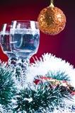 διακοπές Χριστουγέννων ανασκόπησης Στοκ Εικόνα