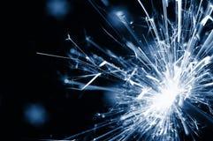 διακοπές sparkler Στοκ εικόνα με δικαίωμα ελεύθερης χρήσης