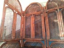 Διακοσμήσεις από το ξύλο ινδικού καλάμου Στοκ Εικόνες