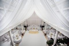 Διακοσμήσεις γαμήλιας τελετής στοκ εικόνες με δικαίωμα ελεύθερης χρήσης