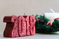 Διακοσμήσεις διακοπών Χριστουγέννων στο αγροτικό υπόβαθρο Στοκ φωτογραφίες με δικαίωμα ελεύθερης χρήσης