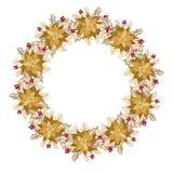 Διακοσμήσεις διακοπών Χριστουγέννων Διανυσματική απεικόνιση