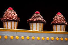 Διακοσμήσεις επιπλεόντων σωμάτων του Ρίο καρναβάλι Στοκ Εικόνα