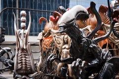 Διακοσμήσεις επιπλεόντων σωμάτων του Ρίο καρναβάλι Στοκ εικόνα με δικαίωμα ελεύθερης χρήσης