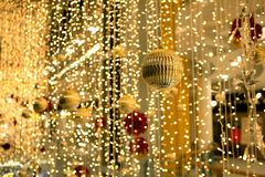 Διακοσμήσεις και διακοσμήσεις Χριστουγέννων Στοκ φωτογραφία με δικαίωμα ελεύθερης χρήσης