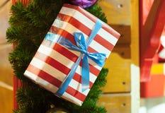 Διακοσμήσεις και φωτισμοί Χριστουγέννων στοκ εικόνες με δικαίωμα ελεύθερης χρήσης