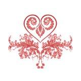 Διακοσμήσεις καρδιών Στοκ εικόνες με δικαίωμα ελεύθερης χρήσης