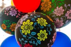 Διακοσμήσεις κόμματος μπαλονιών Στοκ Εικόνες
