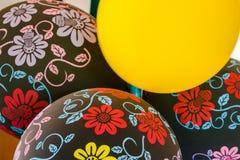 Διακοσμήσεις κόμματος μπαλονιών Στοκ φωτογραφίες με δικαίωμα ελεύθερης χρήσης