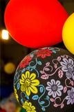 Διακοσμήσεις κόμματος μπαλονιών Στοκ φωτογραφία με δικαίωμα ελεύθερης χρήσης