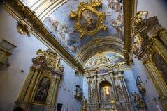Διακοσμήσεις μέσα στο ναό Στοκ φωτογραφίες με δικαίωμα ελεύθερης χρήσης