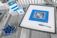 Διακοσμήσεις ντους μωρών Στοκ φωτογραφία με δικαίωμα ελεύθερης χρήσης