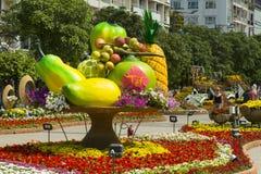 Διακοσμήσεις οδών στην πόλη του Ho Chi Minh Στοκ Φωτογραφίες