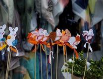 Διακοσμήσεις Πάσχας Στοκ φωτογραφίες με δικαίωμα ελεύθερης χρήσης