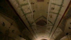 Διακοσμήσεις σε Castel Sant'Angelo στη Ρώμη, Ιταλία απόθεμα βίντεο