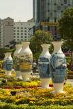 Διακοσμήσεις στην πόλη του Ho Chi Minh Στοκ Φωτογραφία