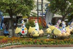 Διακοσμήσεις στην πόλη του Ho Chi Minh Στοκ φωτογραφία με δικαίωμα ελεύθερης χρήσης