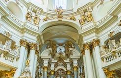 Διακοσμήσεις της δομινικανής εκκλησίας σε Lvov Στοκ φωτογραφία με δικαίωμα ελεύθερης χρήσης