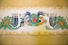 Διακοσμήσεις τοίχων της αρχαίας δυναστείας Chiclayo Περού Moche στοκ φωτογραφίες