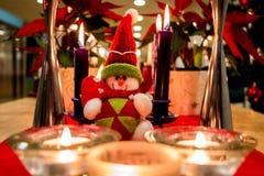 Διακοσμήσεις χιονανθρώπων για τα Χριστούγεννα στοκ φωτογραφία με δικαίωμα ελεύθερης χρήσης