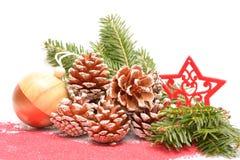 Διακοσμήσεις Χριστουγέννων ή διακοσμήσεις Χριστουγέννων Στοκ εικόνα με δικαίωμα ελεύθερης χρήσης