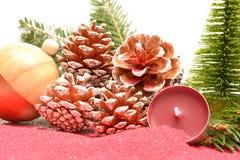 Διακοσμήσεις Χριστουγέννων ή διακοσμήσεις Χριστουγέννων Στοκ Εικόνα
