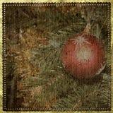 διακοσμήσεις Χριστουγέννων ανασκόπησης απεικόνιση αποθεμάτων