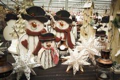 Διακοσμήσεις Χριστουγέννων για την πώληση Στοκ φωτογραφία με δικαίωμα ελεύθερης χρήσης