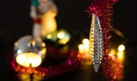 Διακοσμήσεις Χριστουγέννων για το χριστουγεννιάτικο δέντρο, διακοπές στοκ φωτογραφία με δικαίωμα ελεύθερης χρήσης
