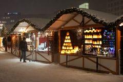 Διακοσμήσεις Χριστουγέννων και στο Βερολίνο Στοκ Φωτογραφία