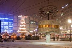 Διακοσμήσεις Χριστουγέννων και στο Βερολίνο Στοκ εικόνα με δικαίωμα ελεύθερης χρήσης