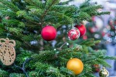 Διακοσμήσεις Χριστουγέννων στη Μόσχα το Δεκέμβριο στοκ φωτογραφίες με δικαίωμα ελεύθερης χρήσης